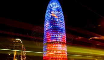 Torre_Agbar_Exterior_Night